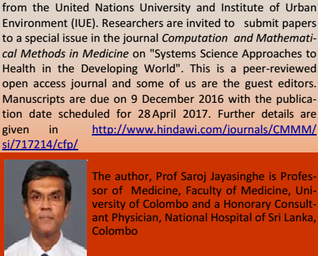 Newsletter of the Sri Lanka Association for the Advancement of Science